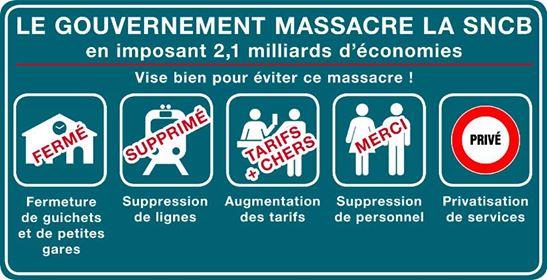Jeu de Massacre à la gare de Chatelineau!