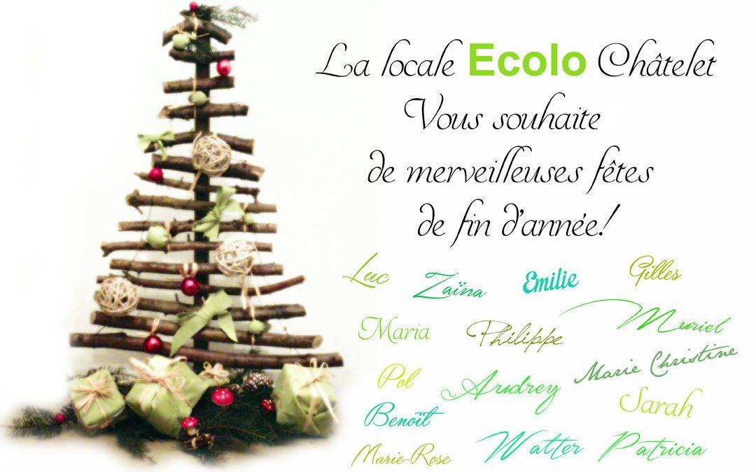 Nous vous souhaitons de merveilleuses fêtes!
