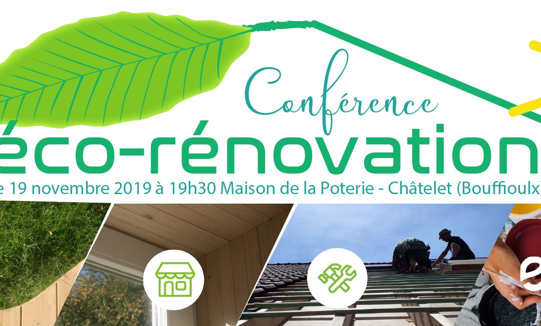 Conférence Eco-Rénovation