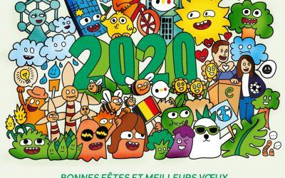Pour une année 2020 verte et solidaire!